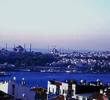 view of old Istanbul from my hotel by califpoppy1621