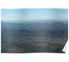 Looking over Wilpena Pound,S.A. Poster