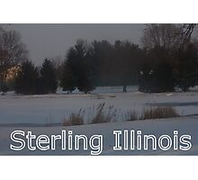 Sterling, Illinois Photographic Print