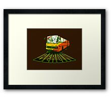 Old Bus Berlin Framed Print