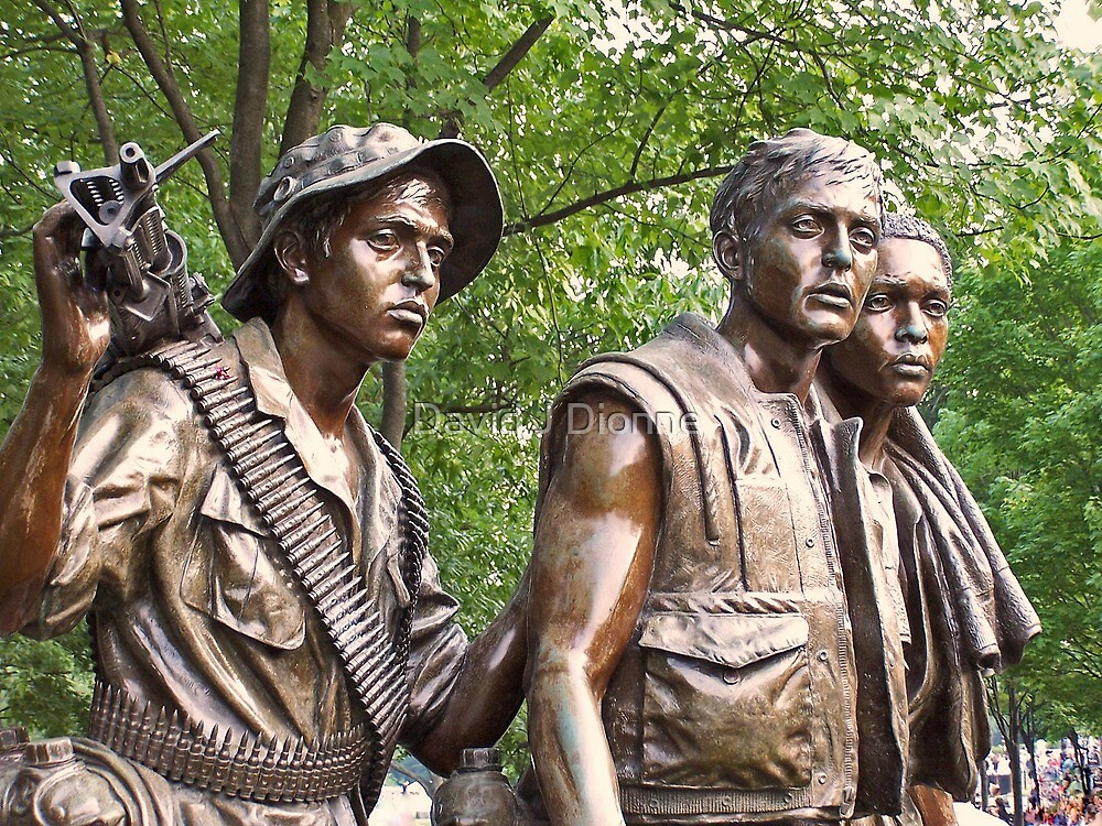 Viet Vets - Washington DC by David J Dionne