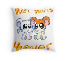 ham BFF Throw Pillow