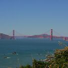 Golden Gate taken by my Daughter by flyfish70