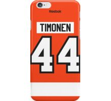 Philadelphia Flyers Kimmo Timonen Jersey Back Phone Case iPhone Case/Skin