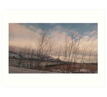 Winter In The Lakes Art Print
