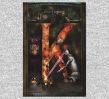 Steampunk - Alphabet - K is for Killer Robots One Piece - Short Sleeve