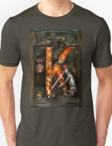 Steampunk - Alphabet - K is for Killer Robots Unisex T-Shirt