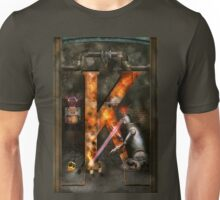Steampunk - Alphabet - K is for Killer Robots Unisex T-Shirt