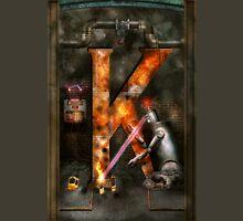 Steampunk - Alphabet - K is for Killer Robots T-Shirt