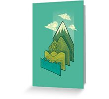 How to Build a Landscape Greeting Card