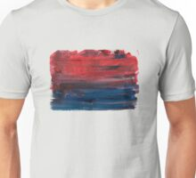 Paint faded text red Unisex T-Shirt