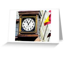 We Have Time For You in California Greeting Card