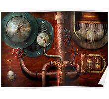SteamPunk - Controls Poster