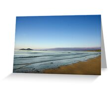 View of Dunk Island from Mission Beach Greeting Card