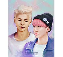 BTS Rap Monster & Suga Pastel Photographic Print