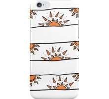 endless orange suns iPhone Case/Skin