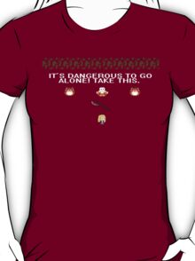 It's Dangerous to Go Alone, Buffy T-Shirt