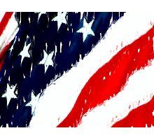 untitled flag Photographic Print