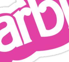 VINTAGE BARBIE V2 Sticker