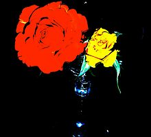 Flower martini for the lonely by Artcool