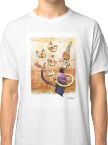 Cat Juggler Classic T-Shirt