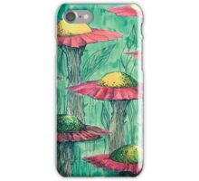 Alien Green Garden iPhone Case/Skin