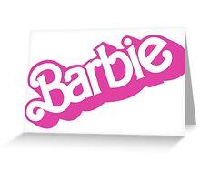 VINTAGE BARBIE V2 Greeting Card