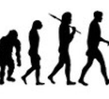 evolution of man, photography by kimcom2005