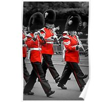 Queen's Guards Band: Trooping the Colour, London. Poster
