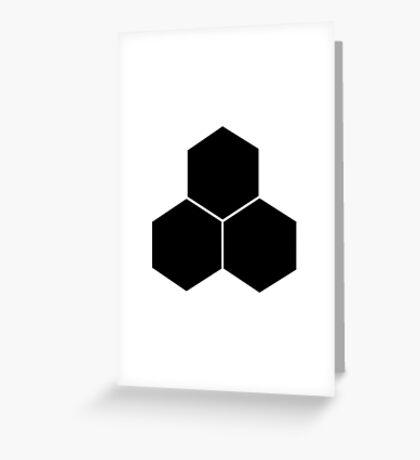 Future Foundation - Black Greeting Card