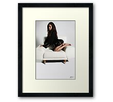 In The Catbird Seat Framed Print