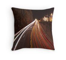 Rush Hour...Hwy. 99 Throw Pillow