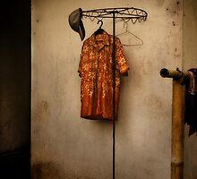 Orange shirt by TeaRose