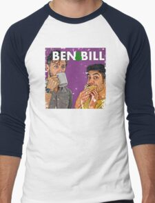 Ben & Bill - Hot Dogs and Coffee Men's Baseball ¾ T-Shirt