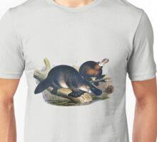 The platypus (Ornithorhynchus anatinus) painting Unisex T-Shirt