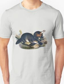 The platypus (Ornithorhynchus anatinus) painting T-Shirt