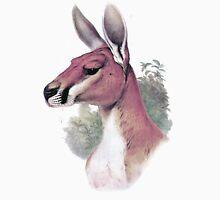 Red kangaroo portrait Unisex T-Shirt