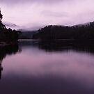 Morning, Lake Rosebery by CezB