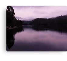 Morning, Lake Rosebery Canvas Print