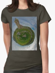 Glencolmcille Church - Sky Out Womens Fitted T-Shirt