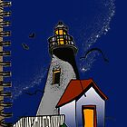lighthouse by Jacqe Matelot