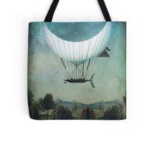 The Moon Ship Tote Bag