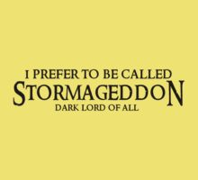 I am Stormageddon! Kids Clothes