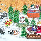 Snowman Party by Cathy Moody