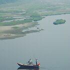 Cycling along the Yamuna River, India by Fossdos