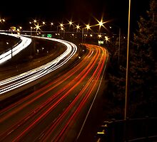 Rush Hour {I-405} by Ritchie Belleque