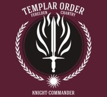 Dragon Age - Templar Order (Knight-Commander) by firlachiel