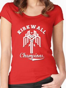 Kirkwall Champions - Dragon Age Women's Fitted Scoop T-Shirt