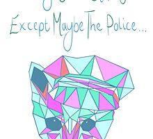 Nothing Can Stop You - Except Maybe The Police by hollylouisa