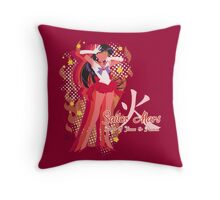 Soldier of Flame & Passion Throw Pillow
